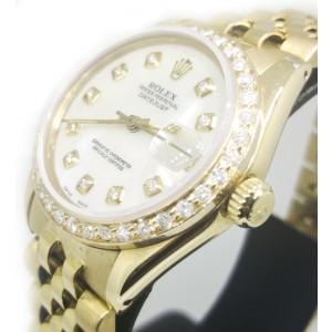 Rolex DateJust 6827 18K Yellow Gold 31mm Watch