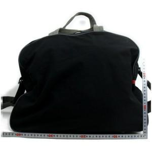 Prada 872407 Black Nylon Weekend/Travel Bag