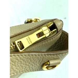 Prada Belt Rose Beige Daino Waist Pouch Fanny Pack 3prada610 Beige-pink Leather Cross Body Bag