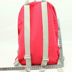 Prada Bicolor Sports 870310 Red Nylon Backpack