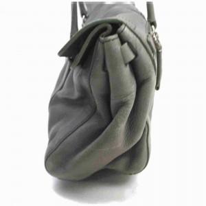 Prada Grey Leather Boston 860059