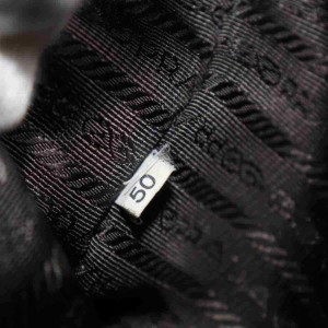 Prada Boston Bowler 860037 Gold Saffiano Leather Shoulder Bag