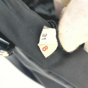 Prada Black Nylon Tessuto Boston Bag 862304