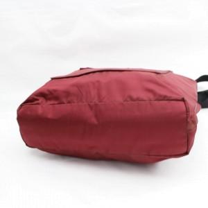 Prada Dark Tessuto Sports 868069 Red Nylon Tote