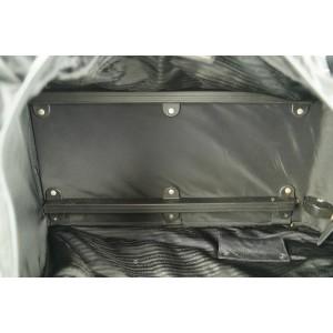 Prada Black Nylon Tessuto Rolling Luggage Duffle Trolley Bag 583pr312