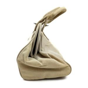 Prada Beige Frame Bowler Bag 863160
