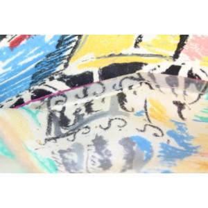 Prada Transparent Venice Graffiti Clear Tote Bag 18pr114