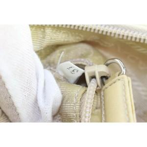 Prada Beige Tessuto Nylon Hobo Bag 3pr421