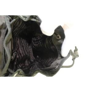 Prada Black Nylon Tessuto Mini Backpack 823pr47