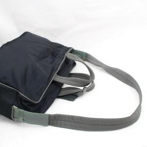 Prada Tessuto Sports 2way 868066 Black Nylon Weekend/Travel Bag