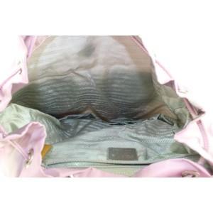 Prada Lavender Nylon Tessuto Twin Pocket Backpacke 43pr122