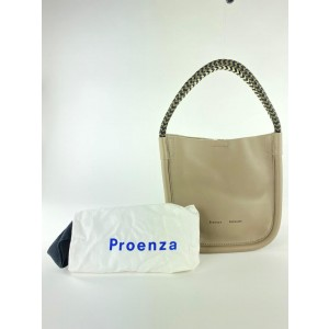 Proenza Schouler Taupe Leather Bucket Bag Tote 8MISC1116