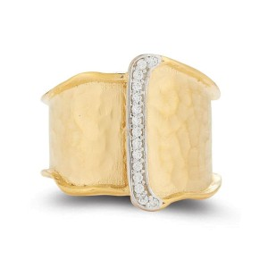 I. Reiss R2560Y 14k Yellow Gold diamonds0.1 H-SI Diamonds Rings