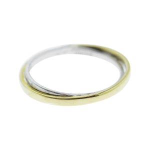 Monica Rich Kosann Yellow Gold and Sterling Silver Posey Ring