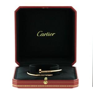 Cartier Juste Un Clou Bracelet Yellow Gold Size 20