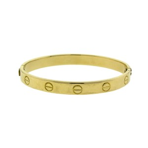 Cartier 18k Yellow Gold Vintage Aldo