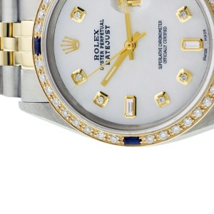 Rolex Datejust 16013 Stainless Steel & Yellow Gold 36mm Mens Watch
