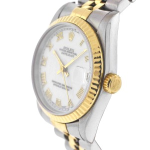 Rolex Midsize Datejust 68273 Two Tone Watch