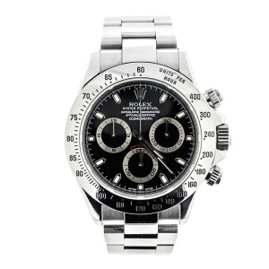 Rolex 116520 Daytona Black Cosmograph Dial Watch