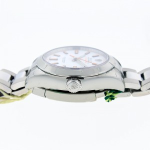 Rolex Milgauss 116400WSO 40mm White Dial Watch