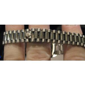 Rolex 69159 Ladies 18K White Gold  MOP Dial Diamonds Watch