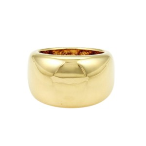 Cartier Yellow Gold Nouvelle Vague Ring Size 6