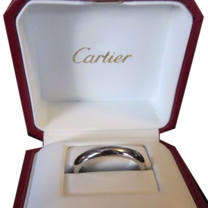 Cartier Platinum Wedding Band Size 11