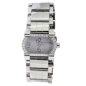 FRED Paris Stainless Steel Diamond Bezel 32 x 20mm Watch