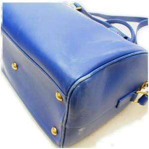 Saint Laurent 12 Hour Duffel Blue Leather with Strap 872879