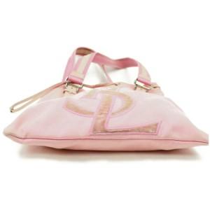 Saint Laurent 872033 Pink Canvas Tote