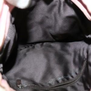 Yves Saint Laurent Hand Bag Pinks Canvas 872033