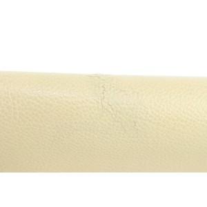 Saint Laurent Large Envelope Clutch Beige YSL Monogram Flap 8MZ1220