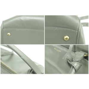 Saint Laurent Duffle 24 Hour Classic 24 Grey 5sk0109 Weekend/Travel Bag