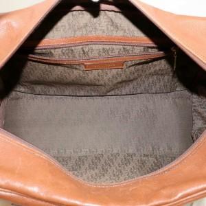 Saint Laurent Duffle Ysl Luggage 870874 Brown Leather Weekend/Travel Bag