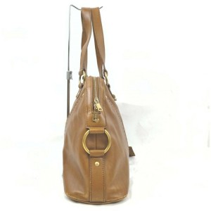 Yves Saint Laurent Brown Leather Muse Bag  861791