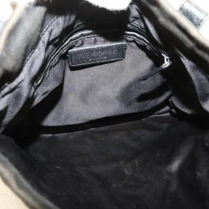 Saint Laurent YSL Kahala Black Drawstring Tote 872498