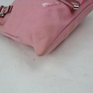 Saint Laurent Ysl Kahala Logo 872848 Pink Canvas Tote