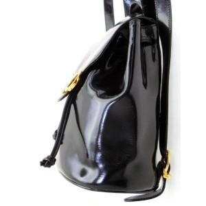 Salvatore Ferragamo Gancini Logo Backpack 228043