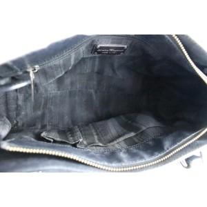 Salvatore Ferragamo Black Leather Tote Bag 327sal518