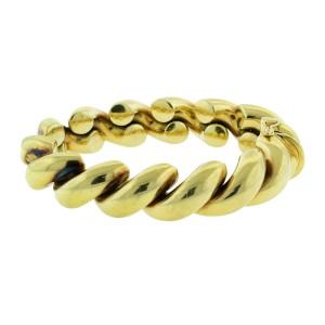 Italian 18k Yellow Gold Link Bracelet