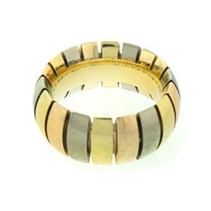 Cartier 18k Tri-Color Gold Tubogas Ring