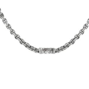 Scott Kay Silver with Diamond Pendant Necklace