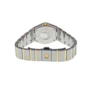 Omega Constellation Mother of Pearl Dial Steel and Yellow Gold Diamond Ladies Watch