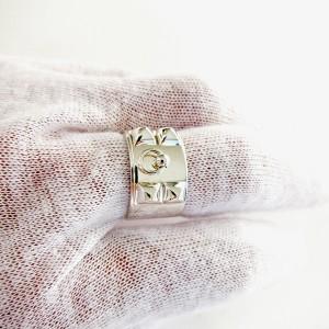 Hermes Silver Collier de Chien Ring