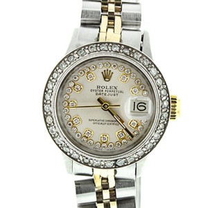 Rolex Datejust Ladies Two Tone Model #6516
