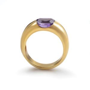 Suarez 18K Yellow Gold Amethyst Ring