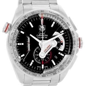 Tag Heuer Grand Carrera CAV5115 Stainless Steel Automatic 43mm Mens Watch