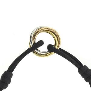 Cartier 18k Trinity Diamond Cord Bracelet