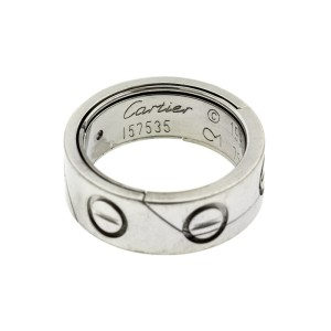 Cartier 18k White Gold Love Astro Ring