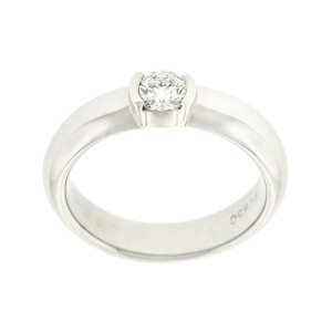 Tiffany & Co. Platinum Solitare Engagement Ring